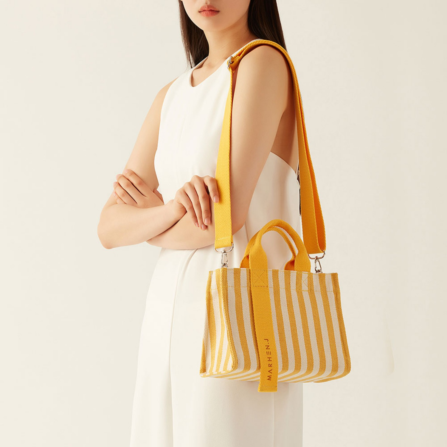 RICO MINI LEMON YELLOW (Length adjustable strap is included)