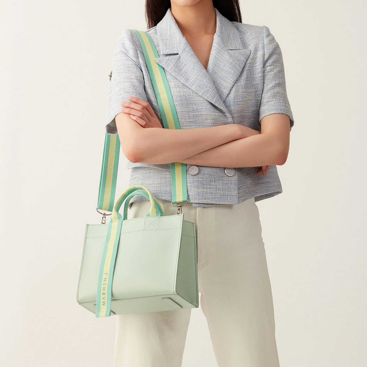 [1st][NEW] CINDY BAG MELON MINT (Length adjustable strap is included)