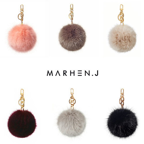 [20%OFF] EMILY FUR CHARM COLLECTION
