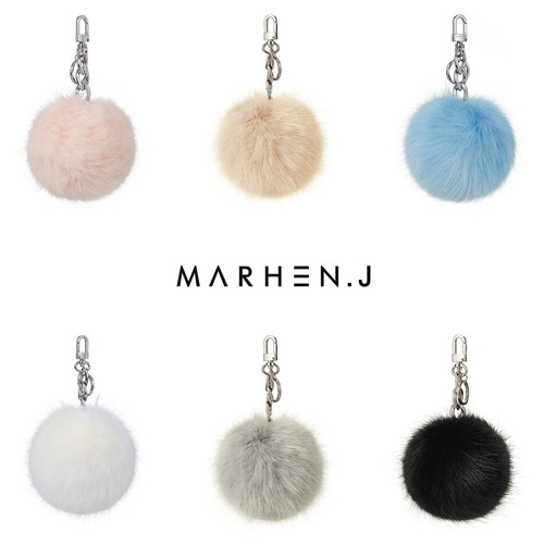 [20%OFF] EMILY RHODIUM FUR CHARM COLLECTION