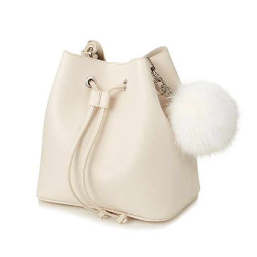 [2nd][Early Spring 50%OFF] JENNY BAG CREAM WHITE RHODIUM EDITION