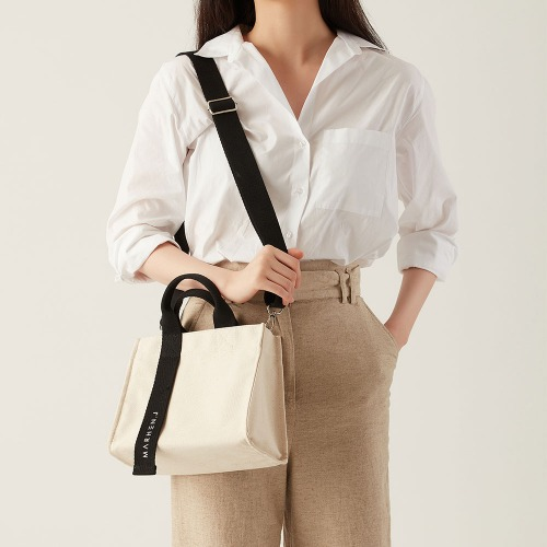 RICO MINI IVORY (Length adjustable strap is included)