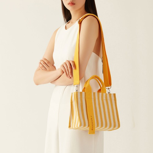 [Summer Festival Discount Ticket] RICO MINI LEMON YELLOW (Length adjustable strap is included)