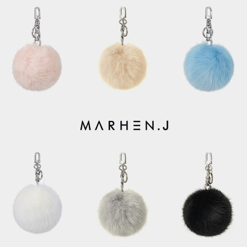 EMILY RHODIUM Fur Charm Collection