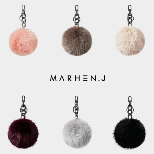 [Sold Out] EMILY CHIC Fur Charm Collection